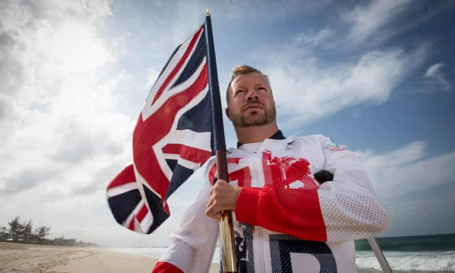 Para-equestrian rider Lee Pearson, who will be the flag bearer for the ParalympicsGB team at the Opening Ceremony.