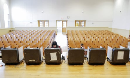 'Voters have unusually low trust that the elections are going to be fair or that the technology is reliable,' says an analyst.