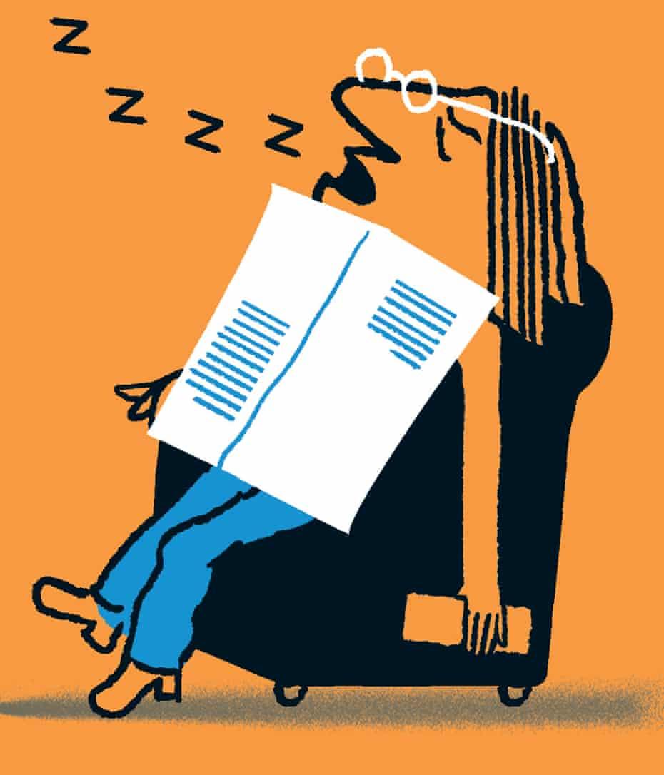 snoring illustation