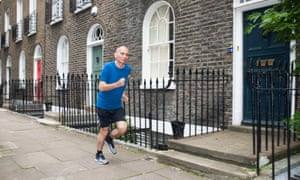 Nick Cohen training: 'I will be running with a selfish sense of entitlement. I've trained for this. It's my right.'