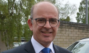 Andy cole(Left and new Police Commissioner for Cambridgeshire police