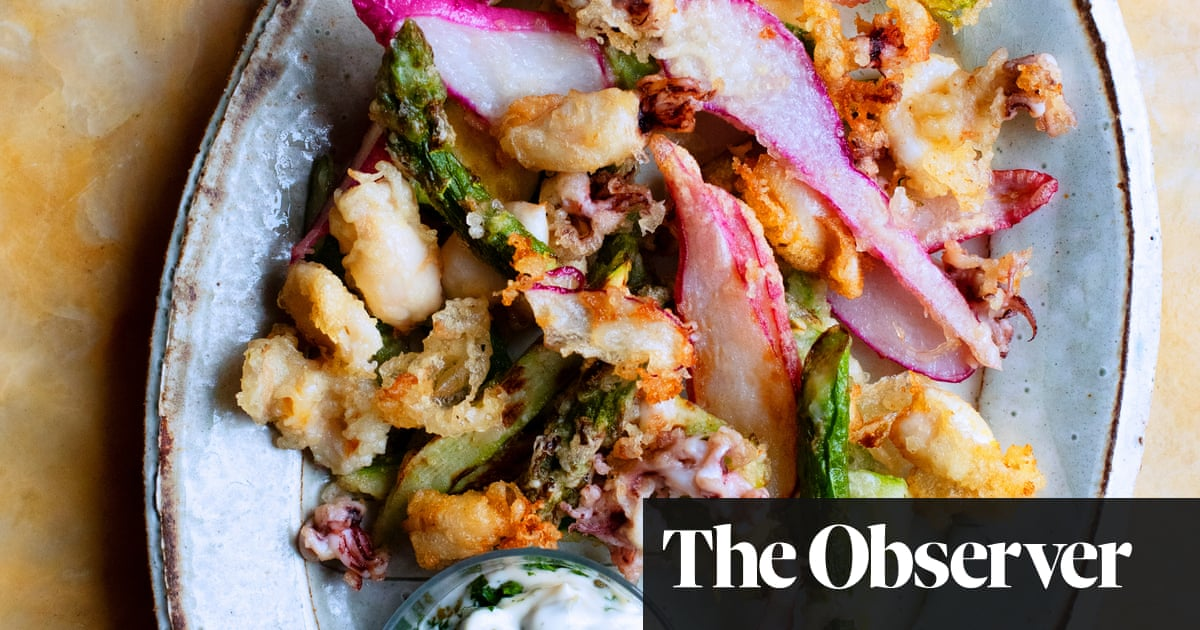 Nigel Slater's recipes for tempura, and spinach pastries