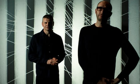No star turns … the Chemical Brothers.