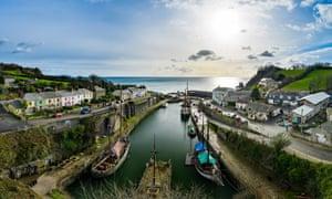 Charlestown Harbour, Cornwall