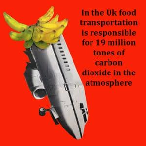 Plane Banana by Mollie Tearne