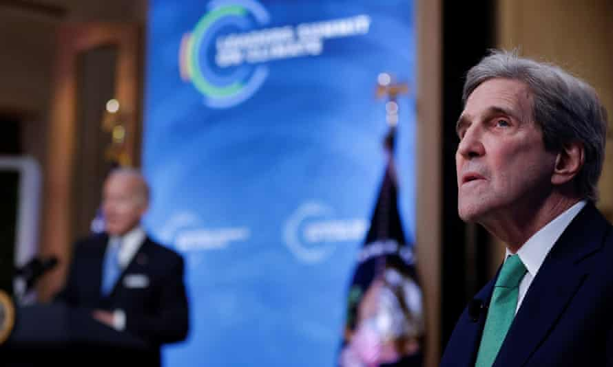 The US climate envoy, John Kerry, has said 50% of the carbon reductions needed to get to net zero will come from technologies that have not yet been invented.
