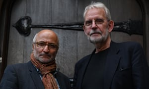 Coup 53's director, Taghi Amirani, left, and its editor, Walter Murch.