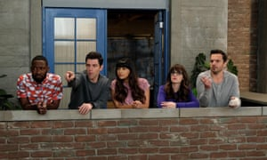 New Girl characters in a scene from its final episode