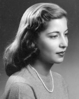 Ruth Bader's engagement photograph, taken while a senior at Cornell University in December 1953.