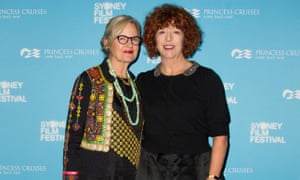 Director Gillian Armstrong and writer Katherine Thomson at the premiere of their film Women He Undressed, as part of the Sydney film festival 2015