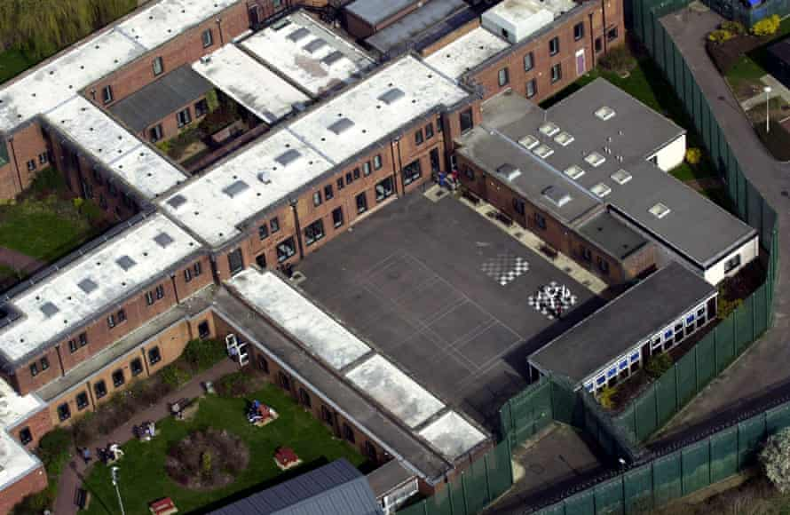 An aerial view of Campsfield House detention centre.