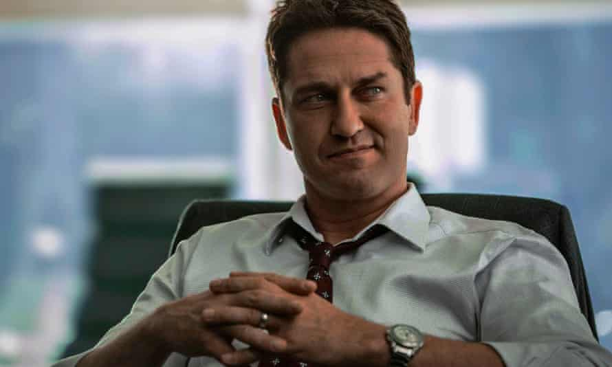 The feel of a vanity project … Gerard Butler in The Headhunter's Calling.