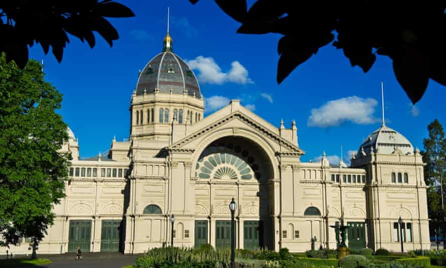 The Royal Exhibition Building in Melbourne.