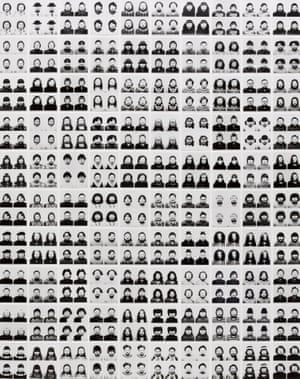 Tomoko Sawada. ID400 #101-200. 1998–2001. One hundred gelatin silver prints. Overall: 46 ¾ x 36 ¾ in. (118.7 x 93.3 cm). The Museum of Modern Art, New York. Acquired through the generosity of Marian and James H. Cohen in memory of their son Michael Harrison Cohen, 2005. © 2015 Tomoko Sawada