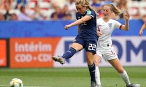 Erin Cuthbert couldn't provide Scotland with the cutting edge they needed.