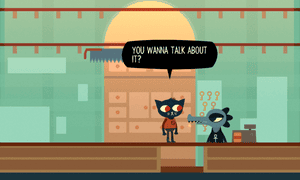 Night in the Woods, published by Finji.