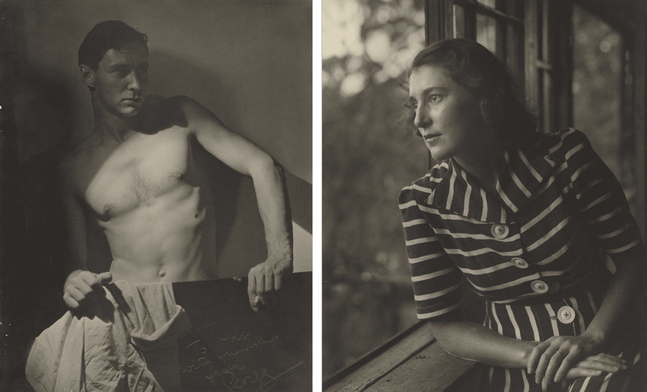 (L) Max Dupain and (R) Olive Cotton