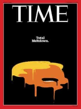 Trump Total Meltdown - Time Magazine October 24 2016