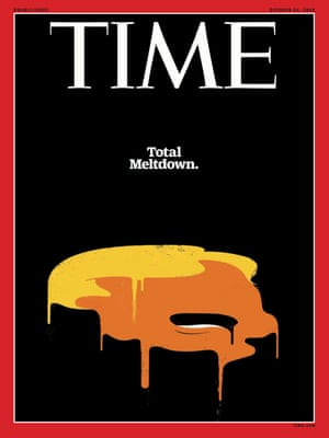 Trump Total Meltdown - Time Magazine October 24 2016