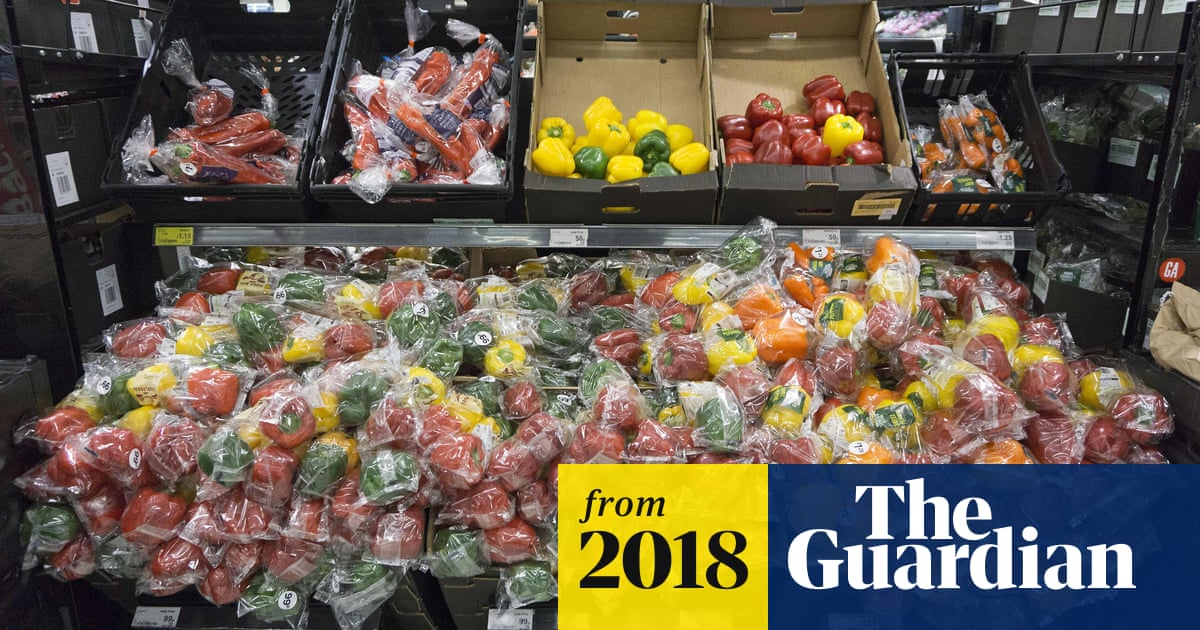 Nearly 1m tonnes every year: supermarkets shamed for plastic