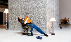 'A gorgeously relaxed immersion': an installation view of Ragnar Kjartansson's show at the Barbican.