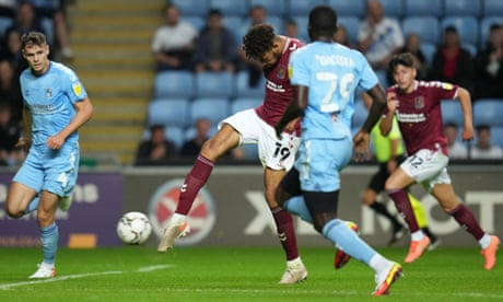 Carabao Cup roundup: Coventry crash out to League Two Northampton