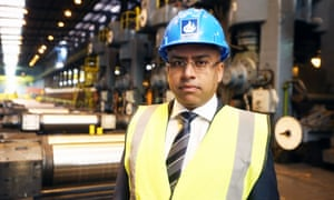 Sanjeev Gupta, head of the metals group Liberty House, has indicated he would need significant financial support to take over Tata's UK operations.