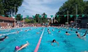 Over a quarter of a million swimmers now visit London Fields Lido annually.