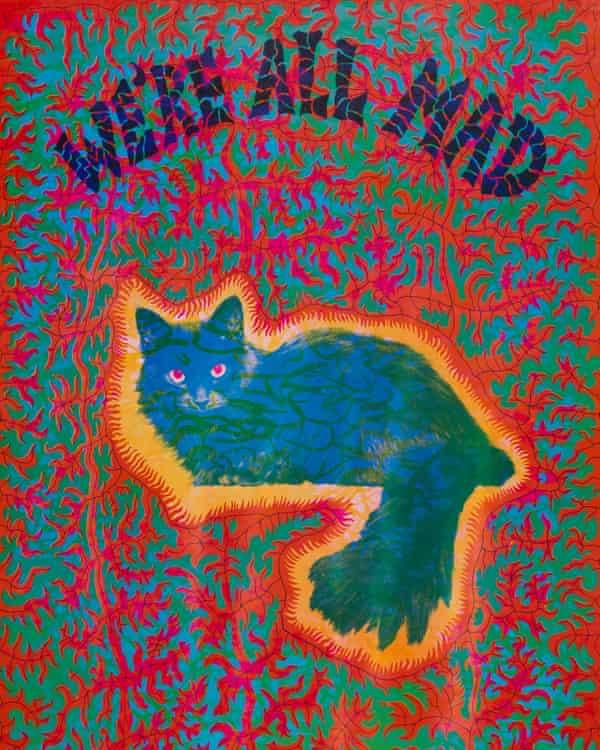 پوستر گربه Cheshire روانگردان… جوزف مک هیو.