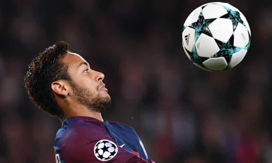 Paris Saint-Germain bought Neymar for £190m in the summer of 2017.