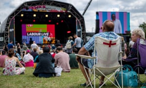 Labour Live at White Hart recreational ground in north London