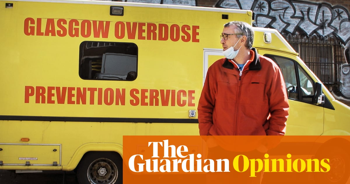 Why I decided to run the UK's first drug consumption van