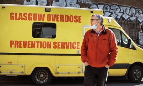 Why I decided to run the UK's first drug consumption van   Peter Krykant