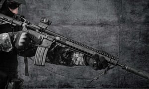 An ad for the Bushmaster rifle in the company's 2016 catalogue.