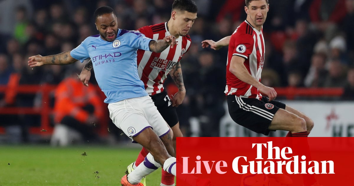 Sheffield United v Manchester City, Everton v Newcastle and more – live!