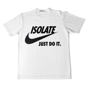 Notjust's Isolate Just Do It T-shirt.