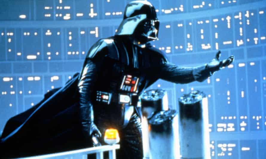 Family affair … Darth Vader in Star Wars (1977).