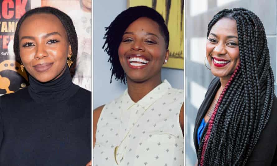 Black Lives Matter founders Opal Tometi, Patrisse Marie Cullors, Alicia Garza.