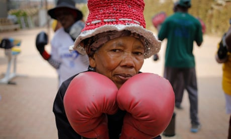 Meet South Africa's 'boxing grannies' – in pictures