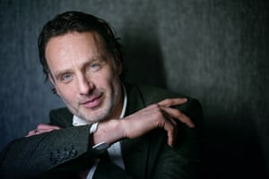 Andrew Lincoln: 'I'm employed to go into a zombie frenzy killing spree. That's what I do.'