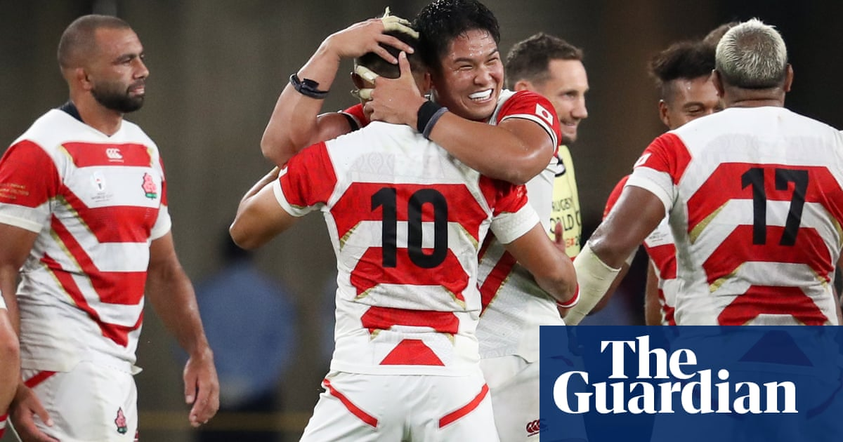 Rugby World Cup: Japan stun Ireland – video highlights
