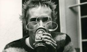Johnny Rotten of the Sex Pistols, December 1976.
