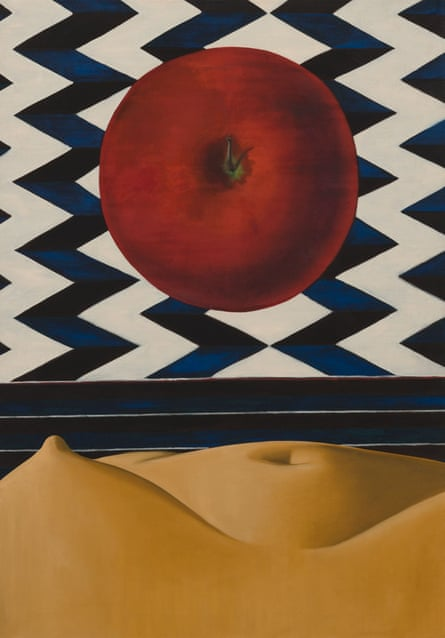 Untitled 1971 by Luchita Hurtado.