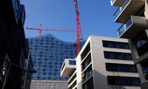 Work in progress: the Elbphilharmonie in Hamburg