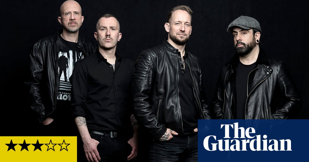 Volbeat: Rewind, Replay, Rebound review – chugging metal-meets-rockabilly