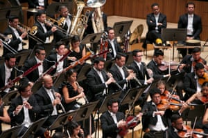 'Platoons of woodwind and brass… '