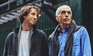 'I'd been caught off guard when he became addicted': David Sheff and his son Nic (left).