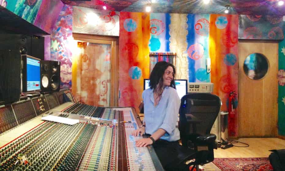 Sound engineer Marta Salogni in the Strong Rooms, London