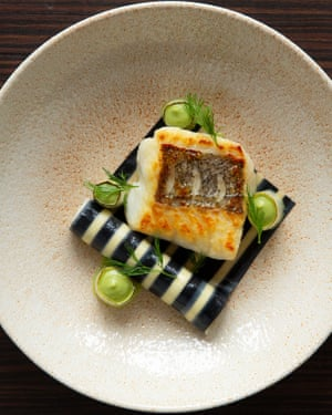 'Sensitively cooked': hake.