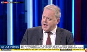 Guto Bebb on Sky's All Out Politics